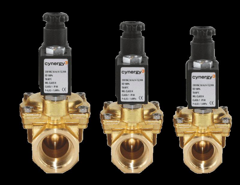 SOL series solenoid valves